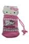 "Mobile Preview: Handysocke ""Hello Kitty"" mit und ohne Band"