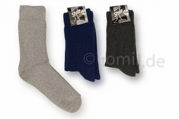 """extra weite & dicke ThermoSocken"" bis 50cm Umfang passend Gr. 35/38 bis 54/58 Made in Germany"