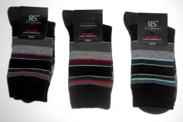 8 Paar Herren Wollsocken Socken farbig ohne Gummi und ohne Naht 70/% Wolle Top