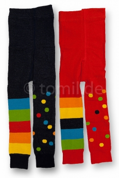 """Blockringel & Punkte"" Kinderlegging in rot und marine Gr. 74/80, 86/92, 98/104, 122/128 & 152/164"