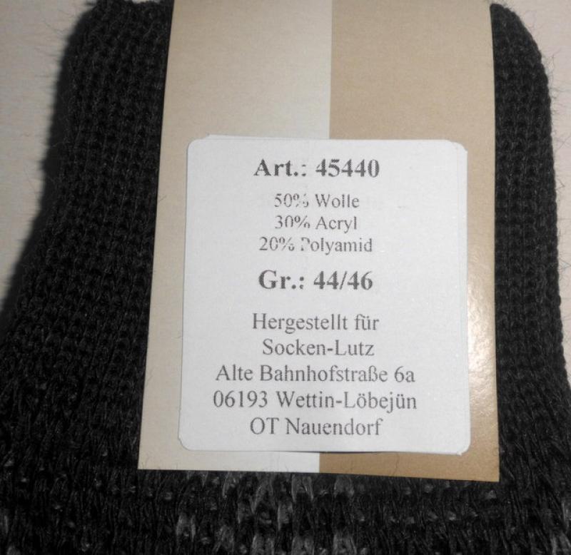 SOCKEN-LUTZ - gemustere Herrenkniestrümpfe mit Wolle