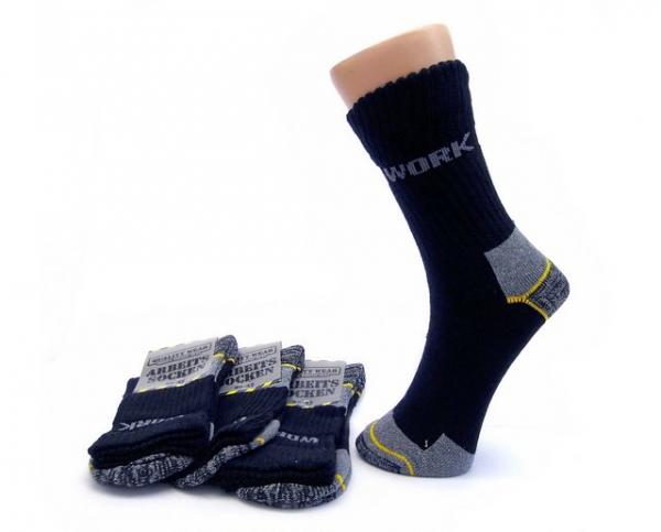 Lenz Staff Worker Basic Arbeits Socken 3er Pack Unisex Herren Damen Allround