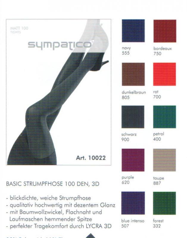 566dea7188851 100 den einfarbige Feinstrumpfhose in vielen Farben